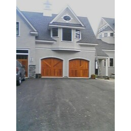Two Single Garage Doors   Limerick, ME