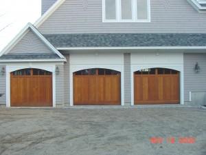Residential Wood Garage Door | Topsham, ME