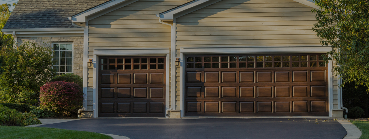 residential home with split garages